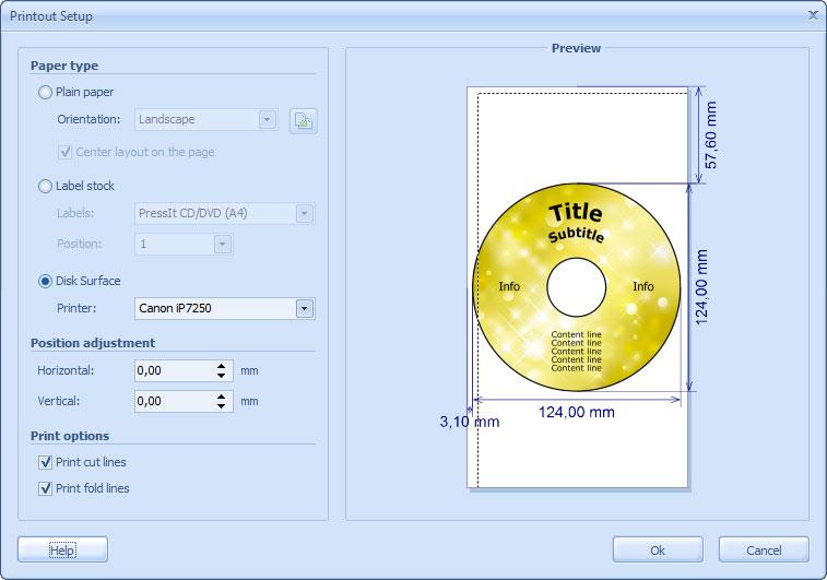 Download CD DVD Label Maker - ronyasoft.com