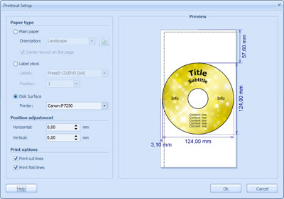 CD DVD Label Maker Screenshot 3