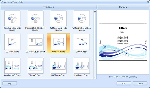 CD Cover Software dans Software choose_a_template_dialog_small