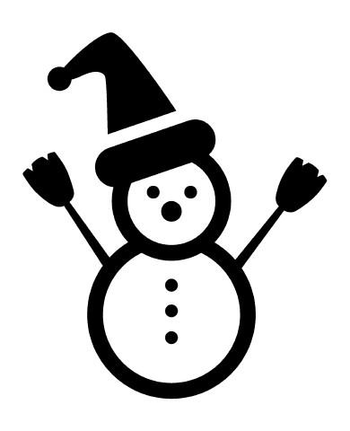 Snowman 1 image