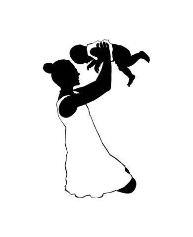 Woman with Child 4 image
