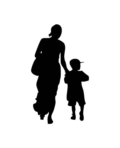 Woman with Child 6 image