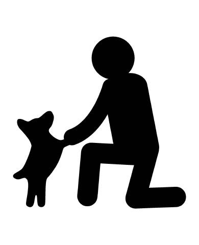 Man with Dog 1 image