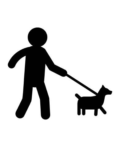Man with Dog 2 image