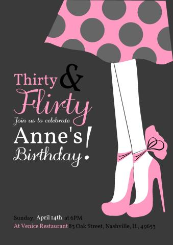 Adult Birthday 9 Poster Template How To Print An Adult Birthday 9
