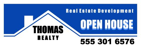 Real Estate Service banner template