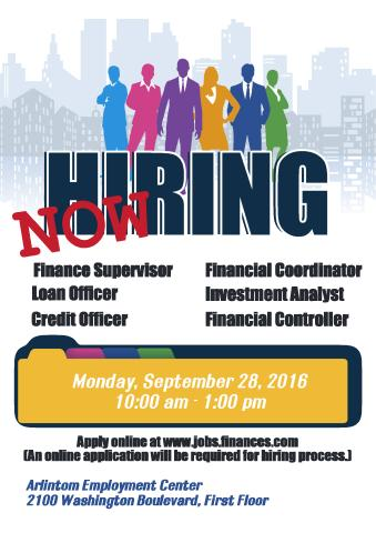 Now Hiring Poster Template How To Make A Now Hiring Poster