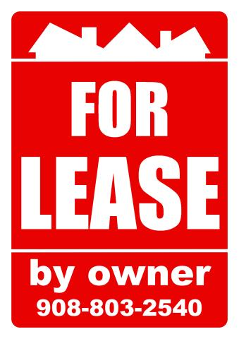 Estate for Lease sign template