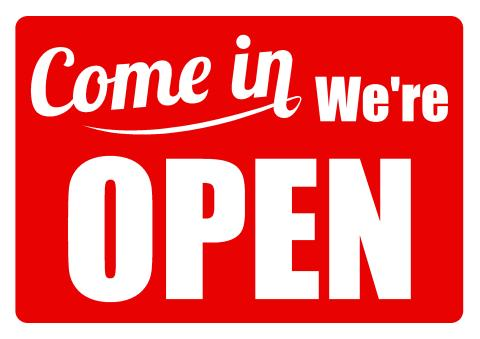 open closed sign template download open sign template how to design we are open