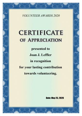 Nice Appreciation Certificate Template