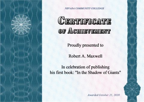 Certificate Of Achievement Template How To Make A Certificate Of