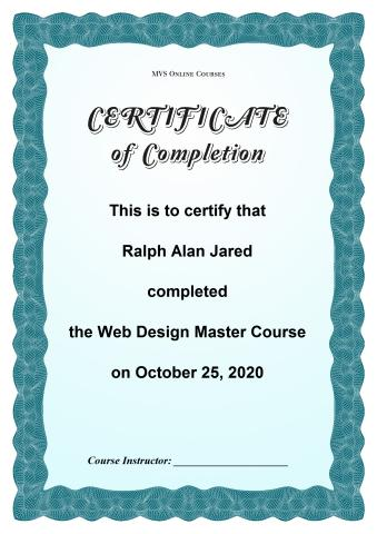 Certificate of completion template how to design a certificate of certificate of completion template yelopaper Image collections