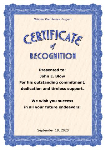 Certificate of Recognition template, How to make a Certificate of ...