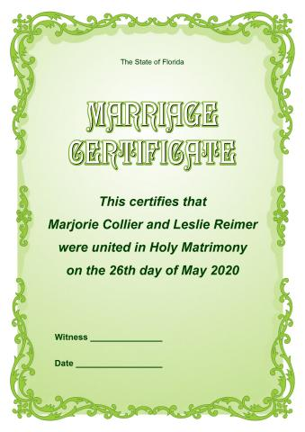 Marriage Certificate Template, How To Print A Marriage Certificate