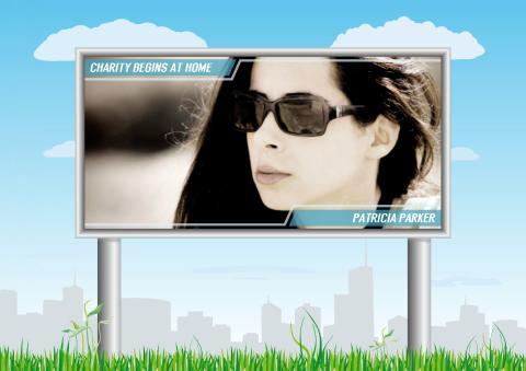Billboard 2 poster template