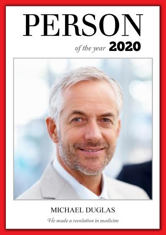 Person of the Year 1 poster template