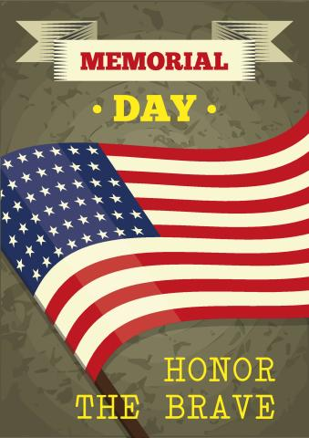 Memorial Day Poster Template How To Print A Memorial Day Poster