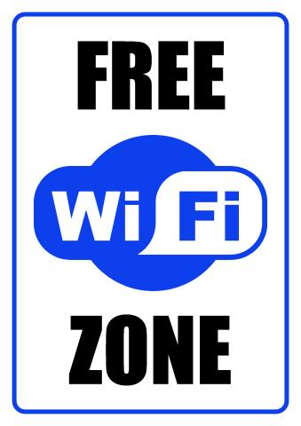 wifi zone sign template how to design a wifi zone sign. Black Bedroom Furniture Sets. Home Design Ideas