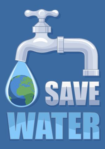 Save Water poster template, How to make a Save Water poster...