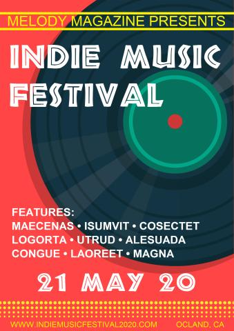 Indie Festival 1 poster template