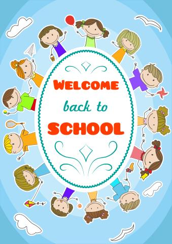 Back To School 2 Poster Template How To Print A Back To School 2