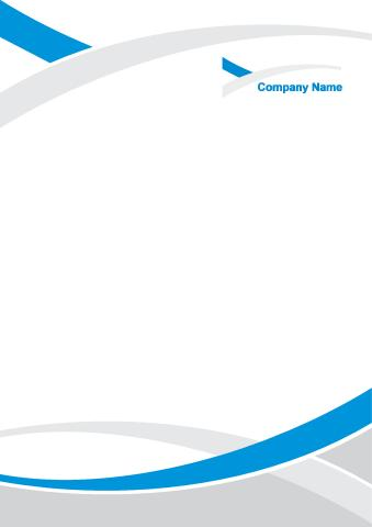 Corporate Identity 2 poster background template...