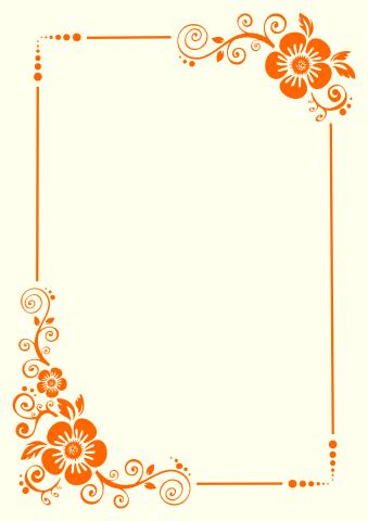 Floral 2 poster background template