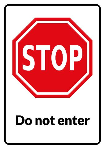 stop sign template how to print a stop sign